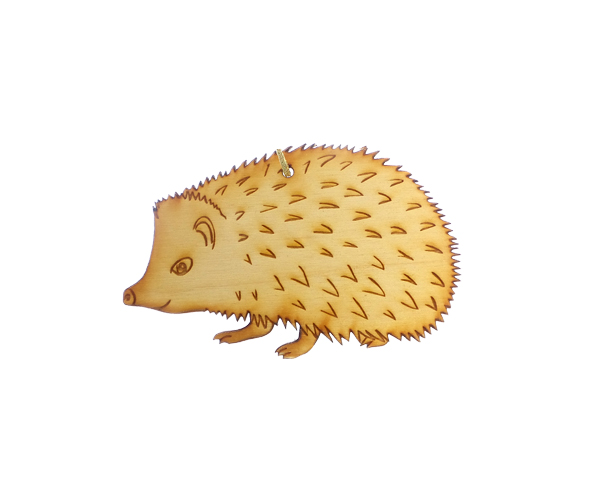 Personalized Hedgehog Ornament