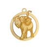 Personalized Lucky Elephant Ornament