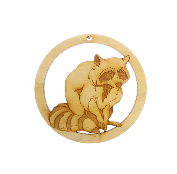 Personalized Raccoon Ornament