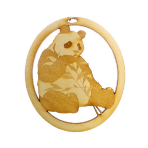 Personalized Panda Ornament
