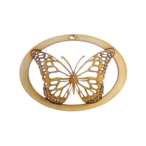 Personalized Monarch Butterfly Ornament