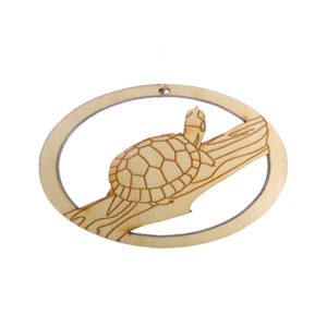 Personalized Turtle Ornament