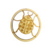 Personalized Ladybug Ornament