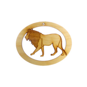 Personalized Lion Ornament