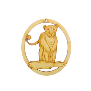 Personalized Lioness Ornament