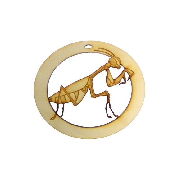 Personalized Praying Mantis Ornament