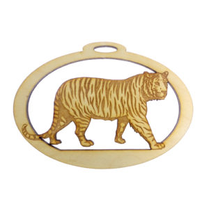 Personalized Tiger Ornament