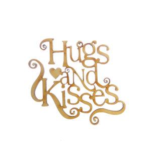 Hugs and Kisses Ornament