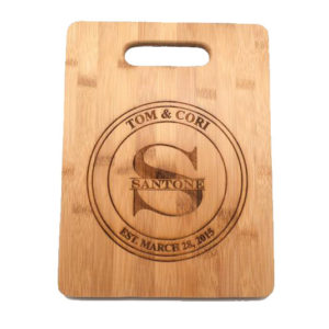 Kitchen Gift Ideas | Personalized Bamboo Cutting Board