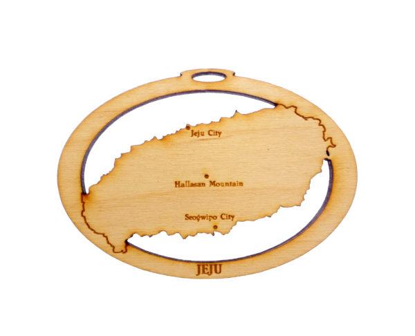 Personalized Jeju Island Ornament