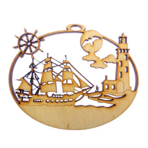 Personalized Nautical Christmas Ornaments