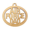 Personalized Air Force Dad Ornament