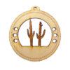 Personalized Cactus Ornament