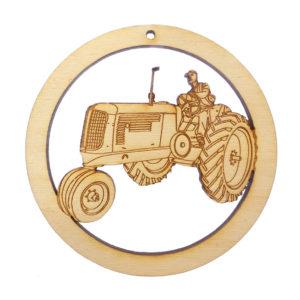 Personalized Farmer Ornament
