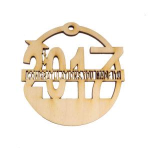 Personalized Graduation Ornament