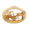 Personalized Amish Horse and Buggy Ornament