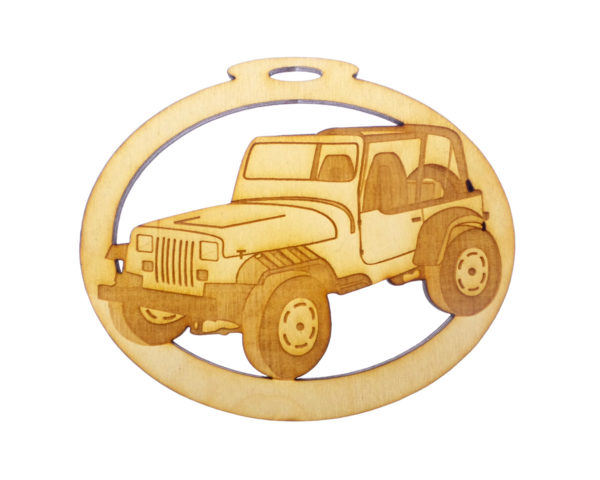 Personalized Jeep Ornament