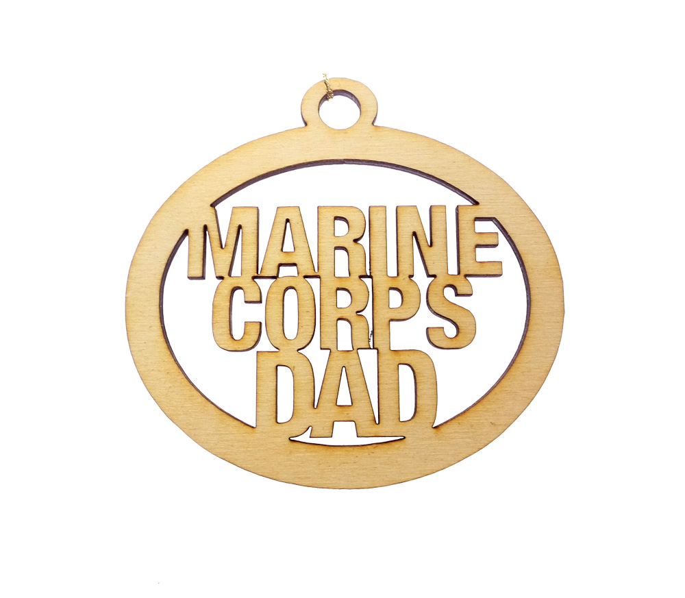 Personalized Marine Corps Dad Gifts
