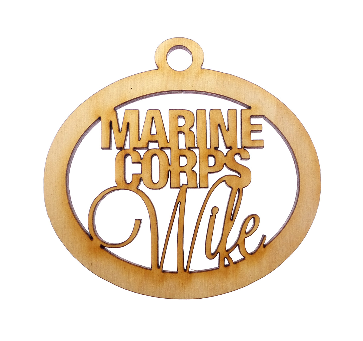 Personalized Marine Corps Wife Gift