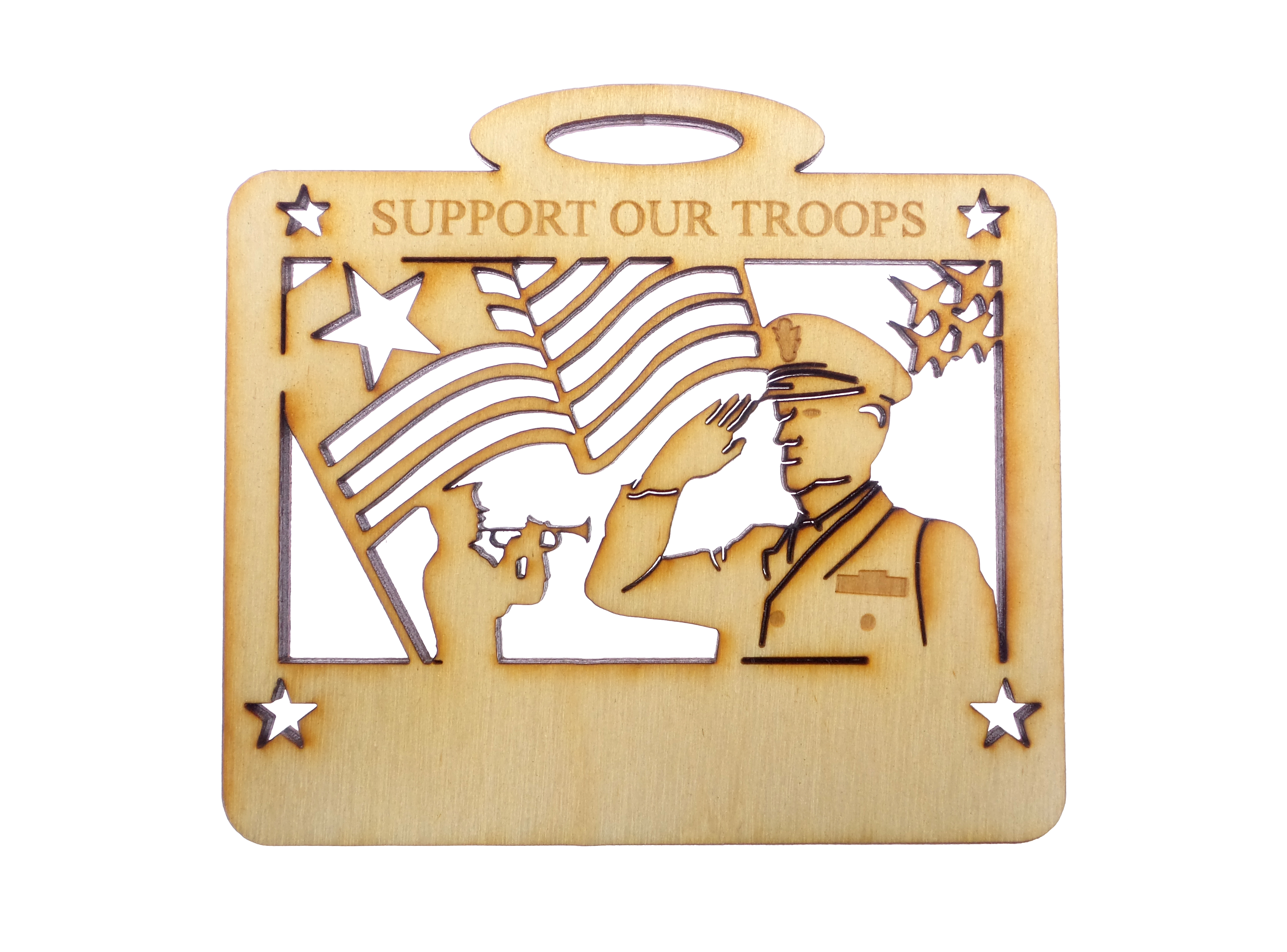 Personalized Support Our Troops Gifts