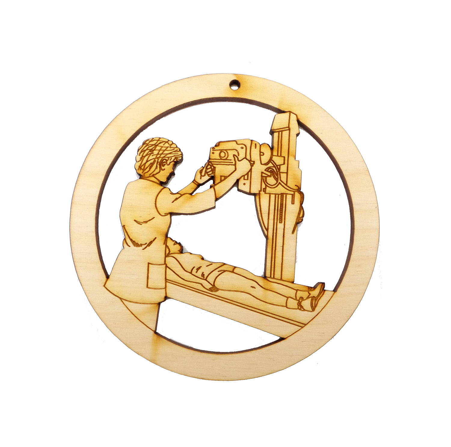 Personalized X-ray Tech Ornament