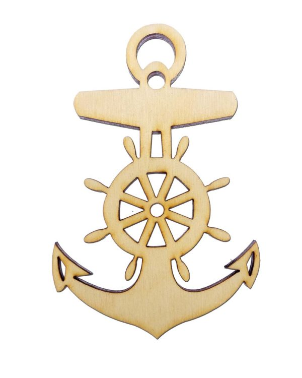 personalized Anchor Christmas Ornament
