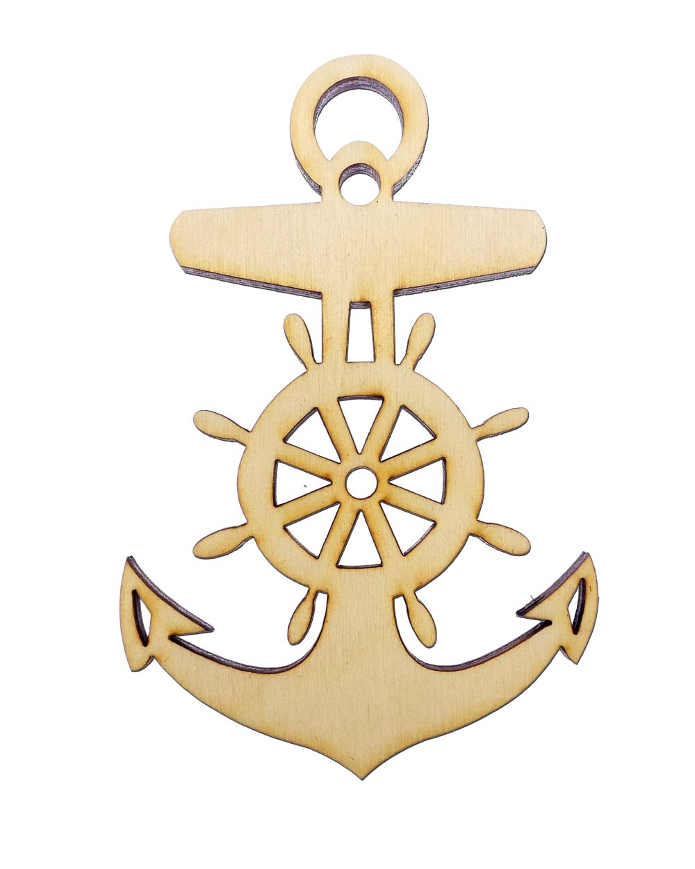 personalized Anchor Ornament