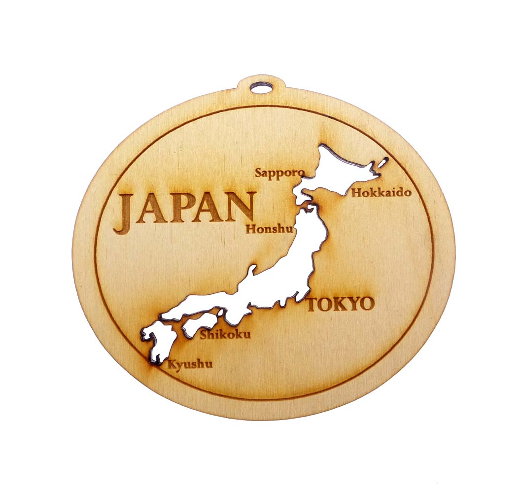 personalized Japan Ornament
