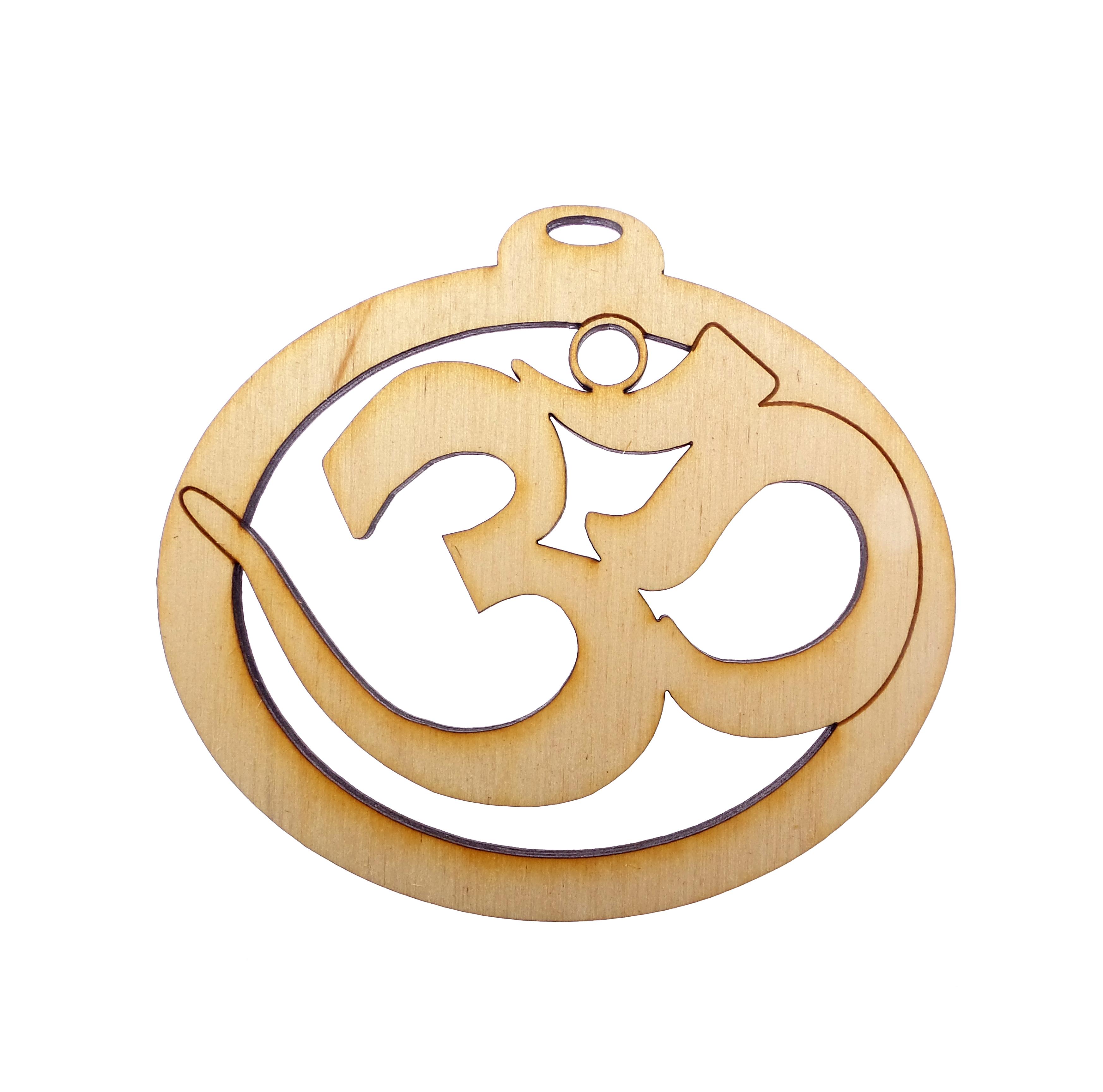 Personalized Yoga ornament