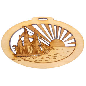 Personalized Tall Ship Souvenir