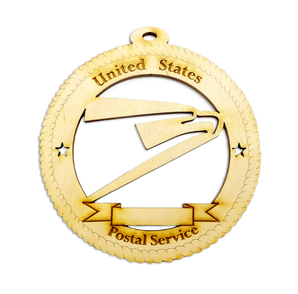 Personalized USPS Christmas Ornament
