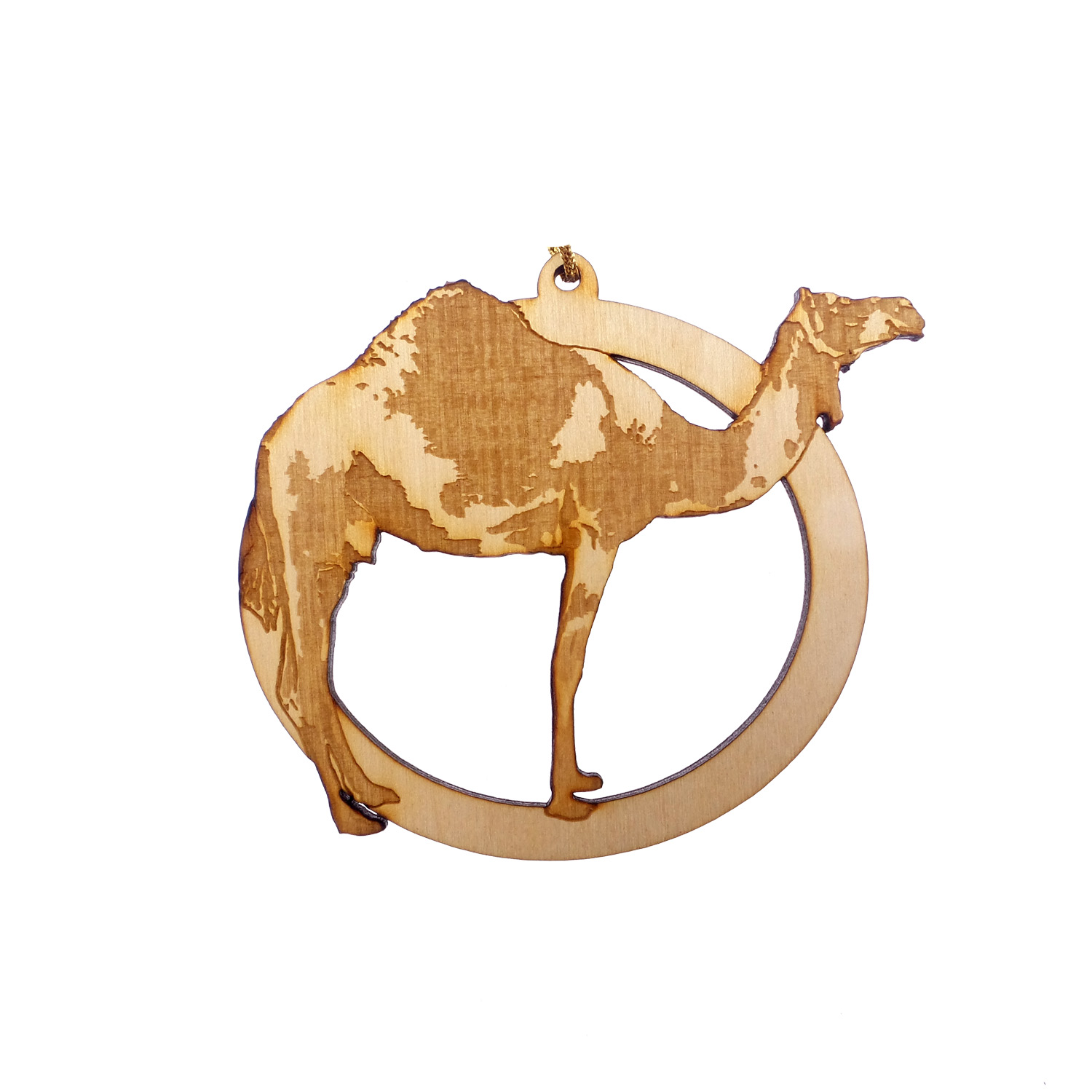 Personalized Camel Christmas Ornament