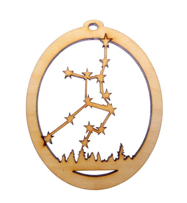 Virgo Christmas Ornament