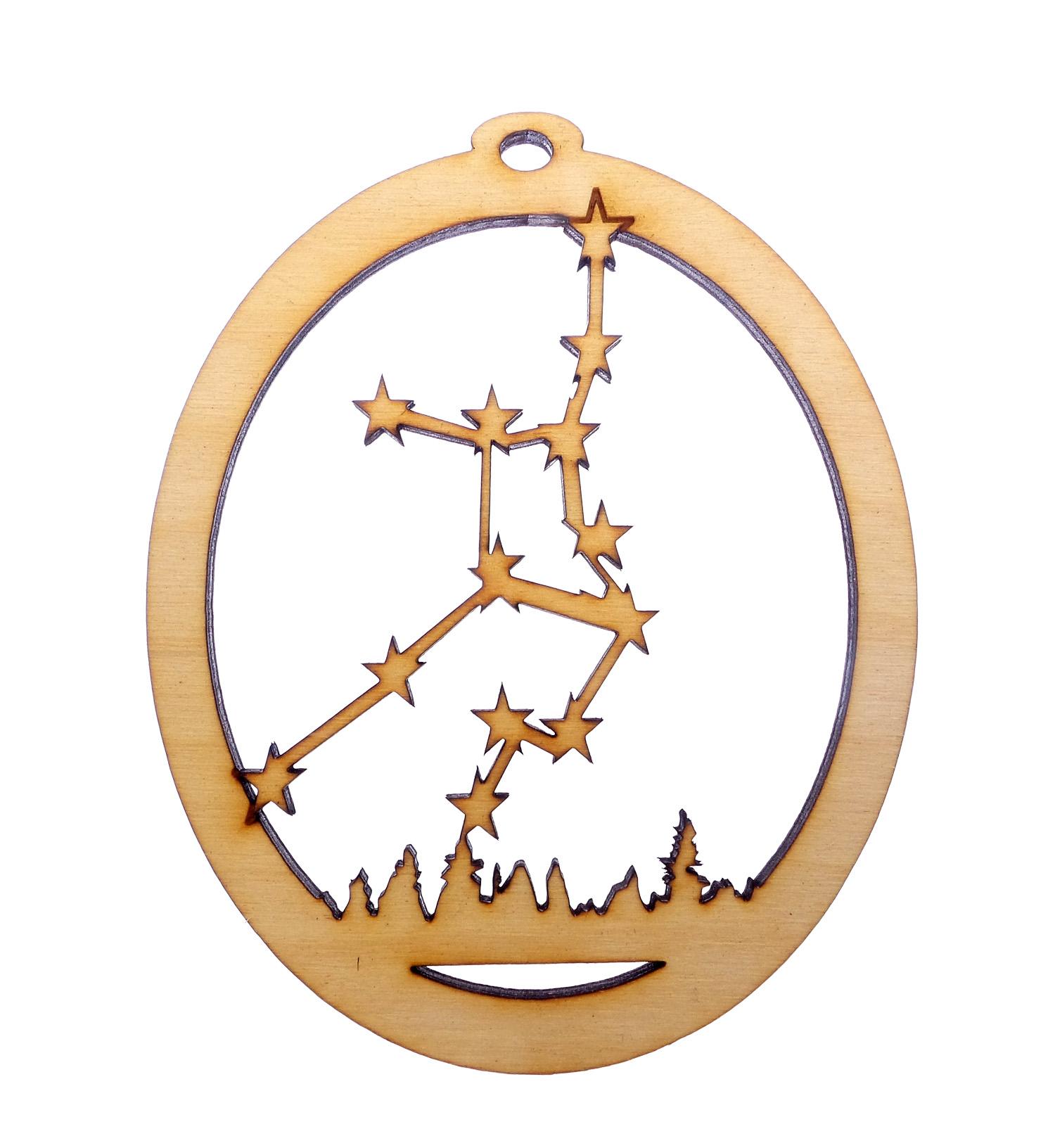 Virgo Constellation Ornament