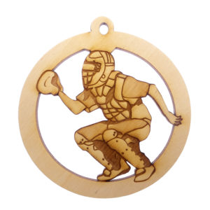 Personalized Baseball Catcher Ornament