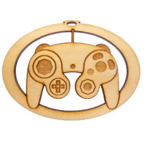Personalized Classic Game Controller Ornament
