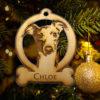 Personalized Italian Greyhound Ornament