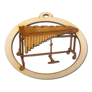 Personalized Marimba Ornament