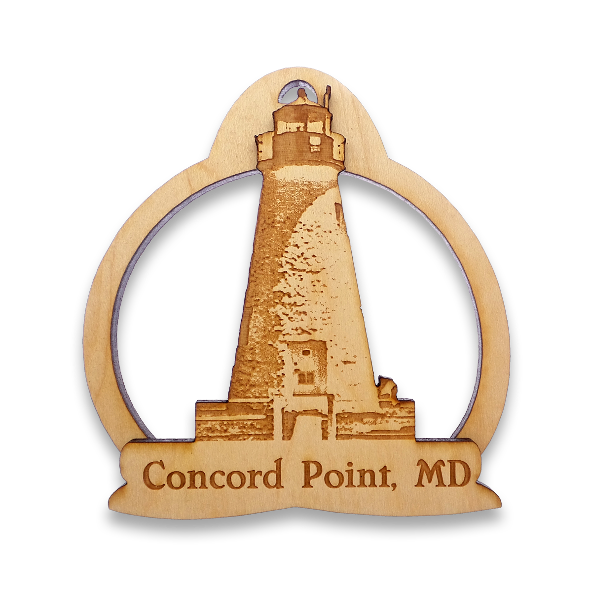 Concord Point Lighthouse Ornament
