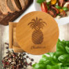 Pineapple Bamboo Coasters