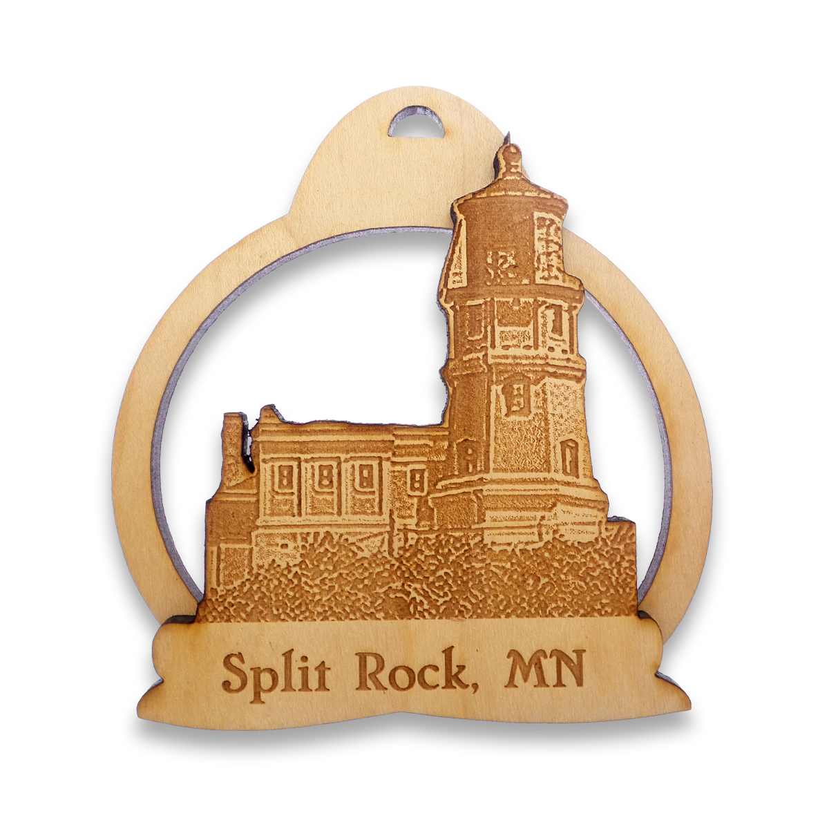 Split Rock Lighthouse Ornament