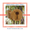 Palm Moon Bamboo Coasters