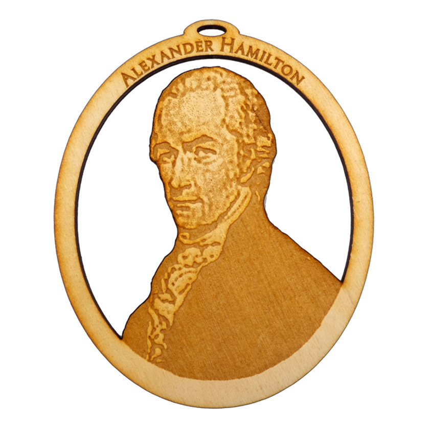 Personalized Alexander Hamilton Ornament