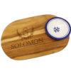 Personalized Teak Wood Cutting Board