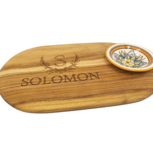 Board with Bowl