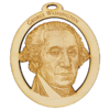 Personalized George Washington Ornament