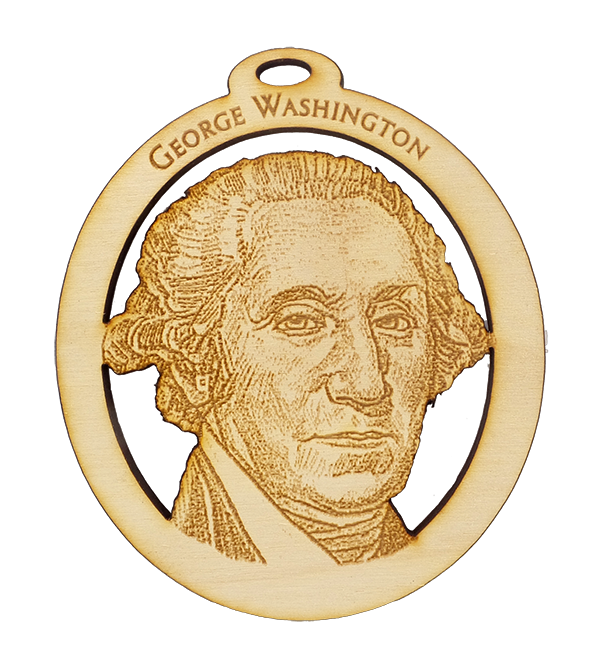 George Washington Ornament