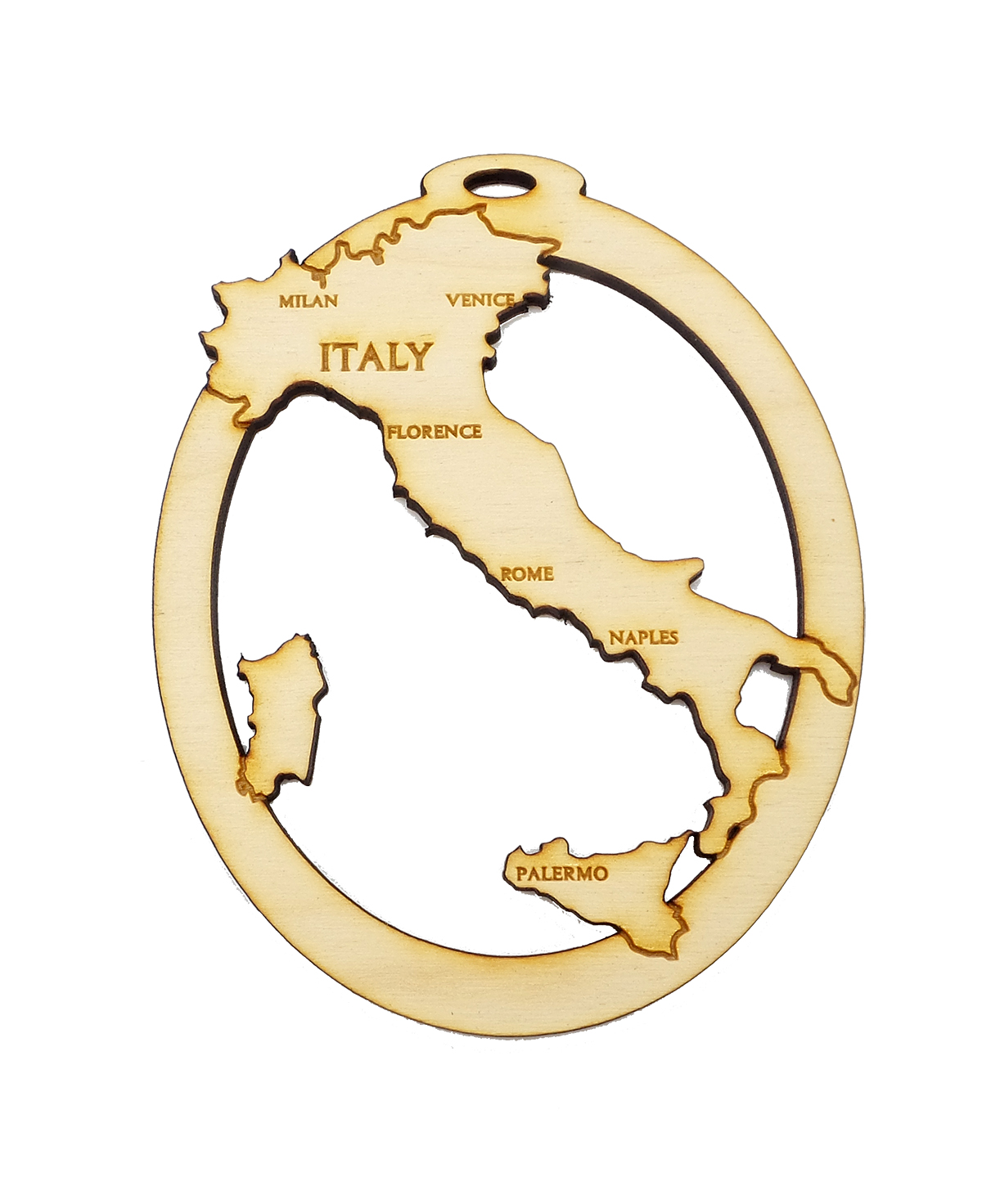Personalized Italy Ornament