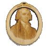 Handmade James Madison Ornament