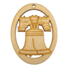 Liberty Bell Christmas Ornament